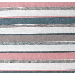 Denim Striped Linen/Cotton...
