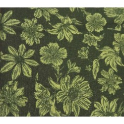 Garden Flowers- Green-1/2...