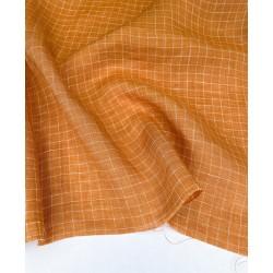 Yarn Dyed Check Linen-Mango