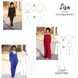 Style Sew Me-Lisa Loungewear